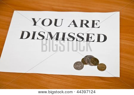 You Are Dismissed
