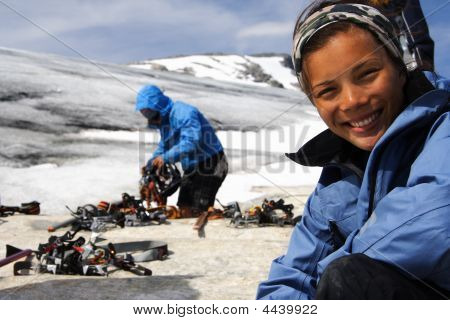 Preparation For Hiking On Glacier