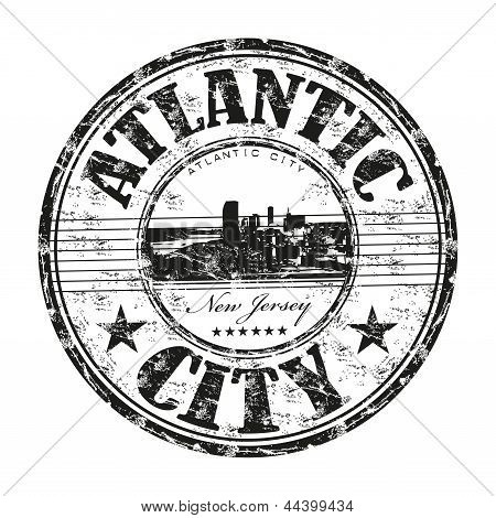 Atlantic City rubber stamp