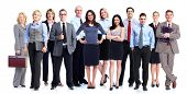 stock photo of team  - Group of business people - JPG