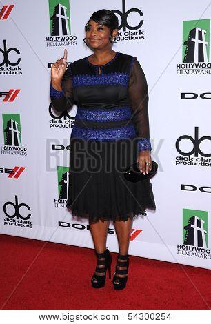 LOS ANGELES - OCT 21:  Octavia Spencer arrives to Hollywood Film Awards Gala 2013  on October 21, 2013 in Beverly Hills, CA