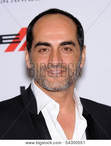 LOS ANGELES - OCT 21:  Navid Negahban arrives to Hollywood Film Awards Gala 2013  on October 21, 2013 in Beverly Hills, CA
