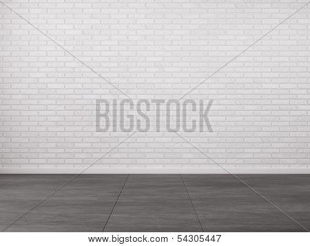 Interior With Brick Wall