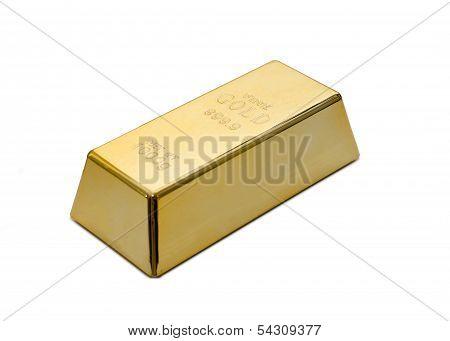 Gold Ingot, Bullion Or Bar