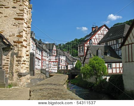 Half-timbered village