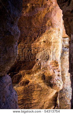 Unwavering Rocks In Arizona