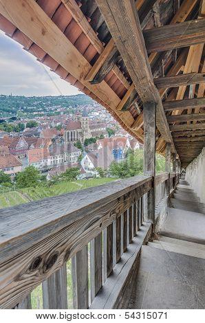 Esslingen Am Neckar Views From Castle Stairs, Germany
