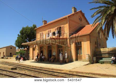 Corsica Train Station