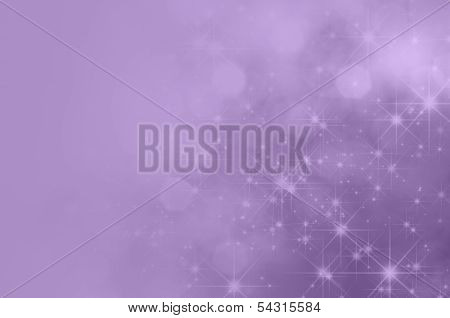 Lilac Purple Star Fade Background