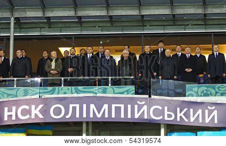 Football Game Ukraine Vs France