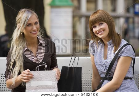 Two Girl Smiling