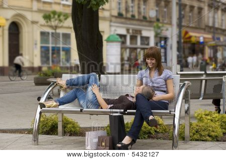 Resting On The Bench