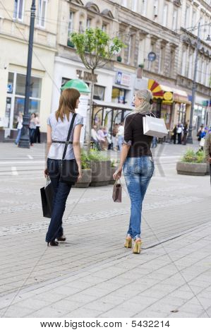 Walking For Shopping