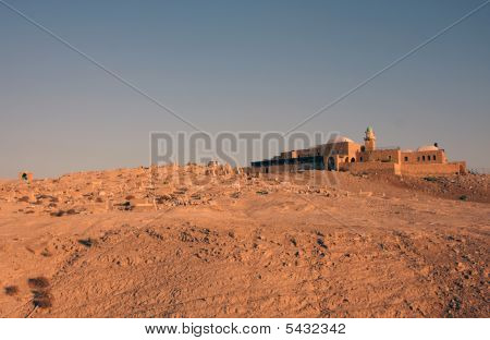 poster of Desert View At Nabi Musa