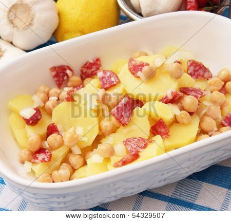 salad of potatoes