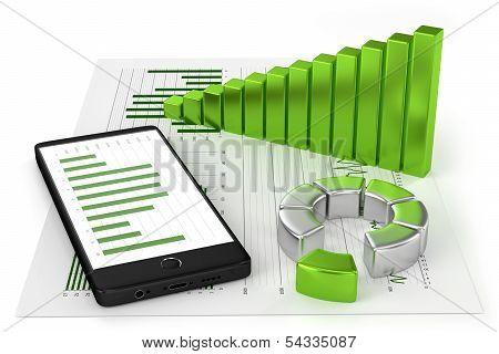Charts and Smartphone