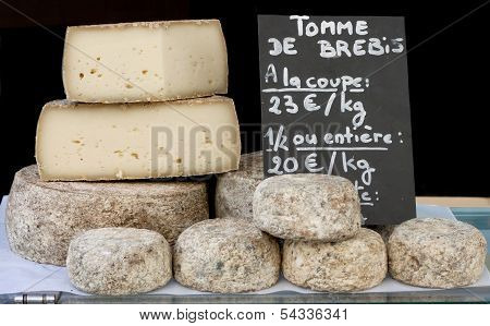 Stack of Bigger France Cheese