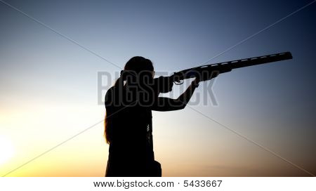 Preparation For Shooting With A Gun
