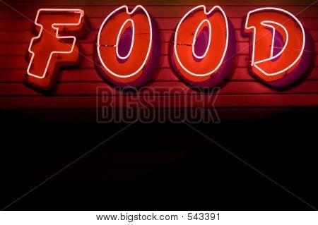 Neon Sign Food