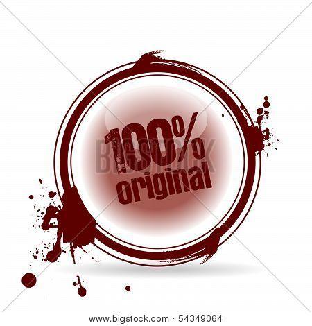 stamp 100% original