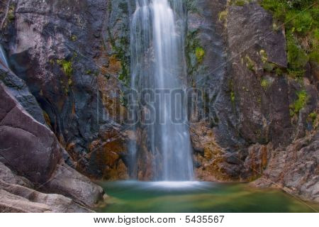 Waterfall In Geres National Park Portugal