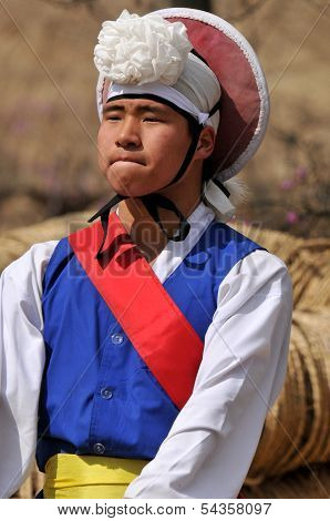 Sangmo dancer
