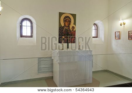 Church In Tobolsk Prison Castle