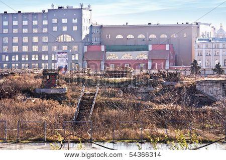Zaryadye. Wasteland