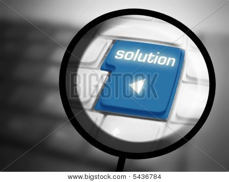 Solution Button On Keyboard
