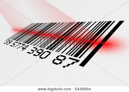 Barcode With Laser