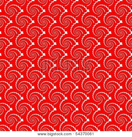 Design Seamless Red Helix Diagonal Background