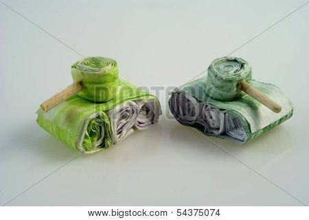 Paper Tanks