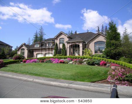 gehobene Haus
