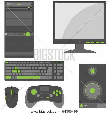 Stylish, Simple External Computer Parts