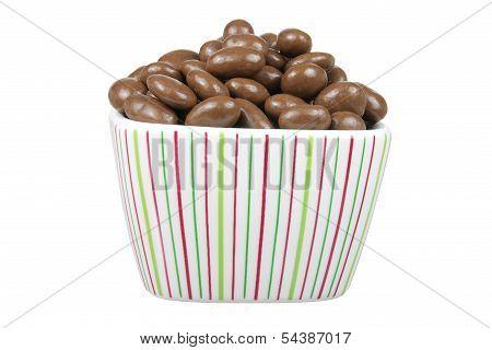 Raisin And Nut Chocolate Beans