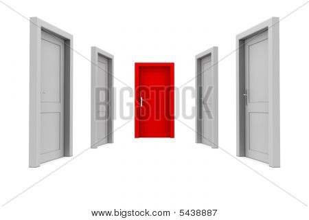 Choose The Red Door