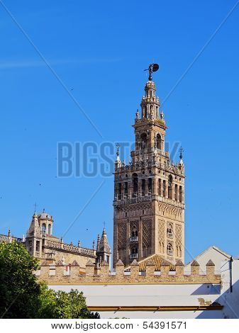 Cathedral In Seville, Spain