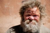 picture of scourge  - hobo with gore selective focus on face made on Canon 5D mark two - JPG