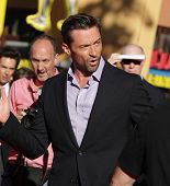 LOS ANGELES - OCT 02:  HUGH JACKMAN arrives to the