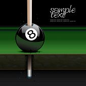 picture of snooker  - Drawing realistic billiard table and ball set 3 - JPG
