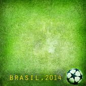 picture of brasilia  - Grunge background  - JPG