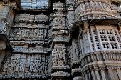 stock photo of rajasthani  - Indian architecture - JPG