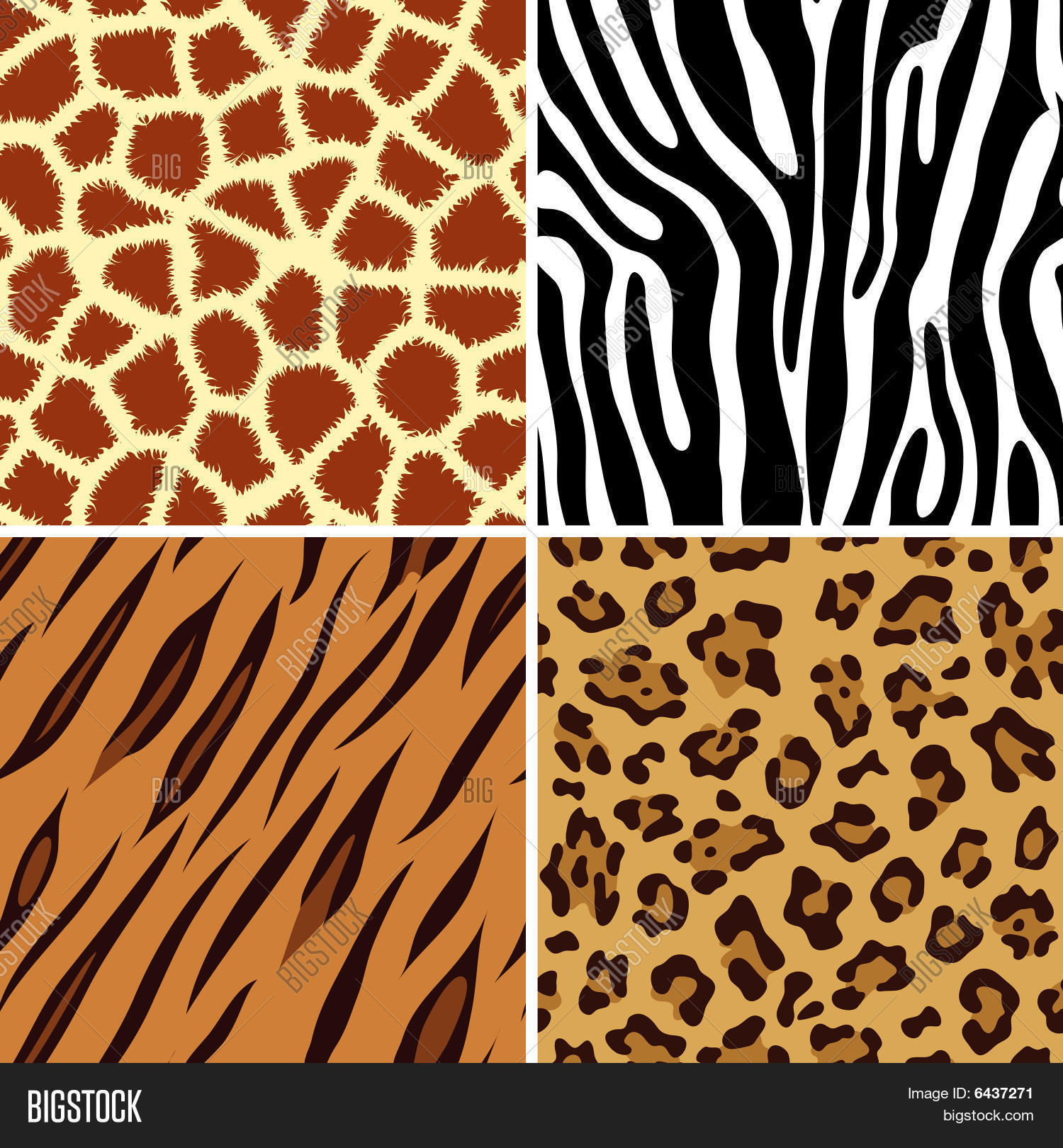 Uncategorized Animal Pictures To Print seamless animal print vector photo bigstock print