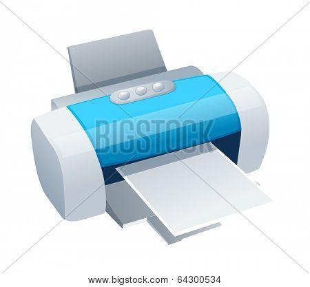 vector icon printer