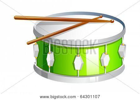 vector icon drum