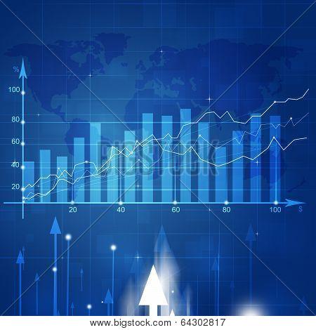 Business Market Stock Diagram