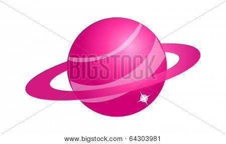vector icon planet