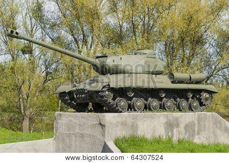 Soviet Tank T 34 Of The Second World War.