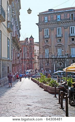 The Churches Of Naples