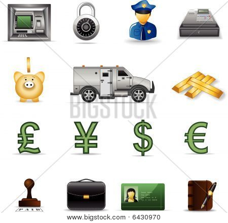 Finance icons, part 3
